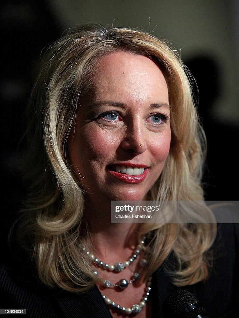 Valerie Plame Wilson, former CIA Operations Officer attends Giorgio Armani & The Cinema Society's screening of 'Fair Game' at The Museum of Modern Art on October 6, 2010 in New York City.
