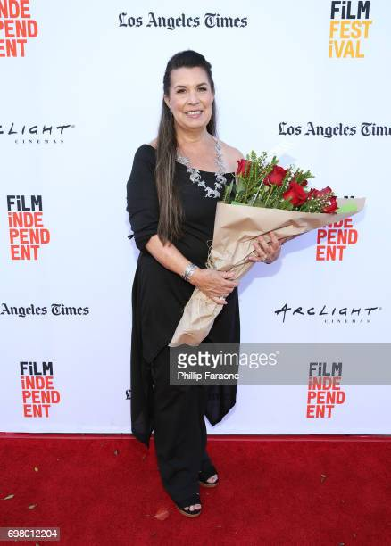 Valerie RedHorse Mohl attends the screening of 'Mankiller' during the 2017 Los Angeles Film Festival at Arclight Cinemas Culver City on June 19 2017...