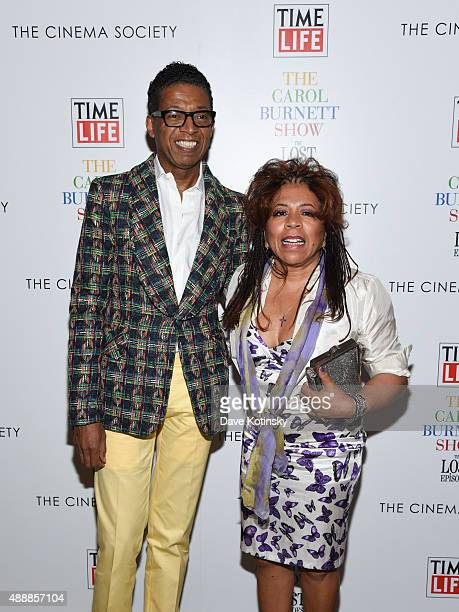 Valerie Simpson and fashion designer B Michael attend the 'The Carol Burnett Show The Lost Episodes' screening hosted by Time Life and The Cinema...