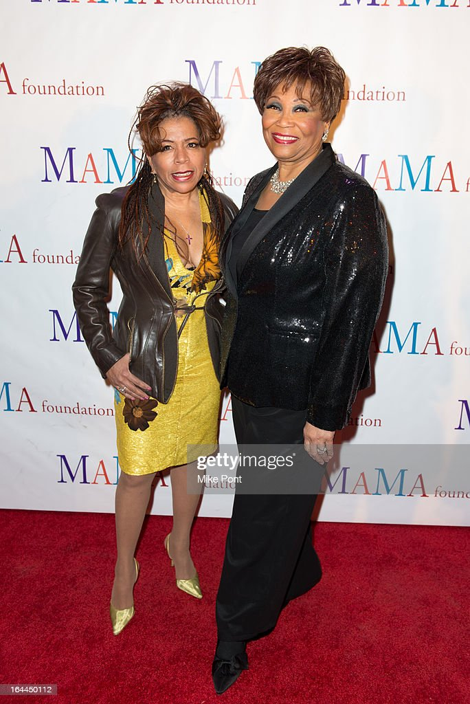 <a gi-track='captionPersonalityLinkClicked' href=/galleries/search?phrase=Valerie+Simpson+-+Recording+Artist&family=editorial&specificpeople=235722 ng-click='$event.stopPropagation()'>Valerie Simpson</a> and Vy Higginsen attend 'Mama I Want To Sing' 30th Anniversary Gala Celebration at The Dempsey Theatre on March 23, 2013 in New York City.
