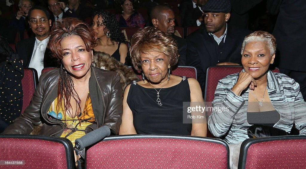 Valerie Simpson, Cissy Houston and Dionne Warwick attend 'Mama I Want To Sing' 30th Anniversary Gala Celebration at The Dempsey Theatre on March 23, 2013 in New York City.