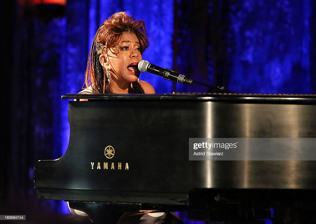 <a gi-track='captionPersonalityLinkClicked' href=/galleries/search?phrase=Valerie+Simpson+-+Recording+Artist&family=editorial&specificpeople=235722 ng-click='$event.stopPropagation()'>Valerie Simpson</a> performs at ROCK ART LOVE at The Angel Orensanz Foundation on March 12, 2013 in New York City.