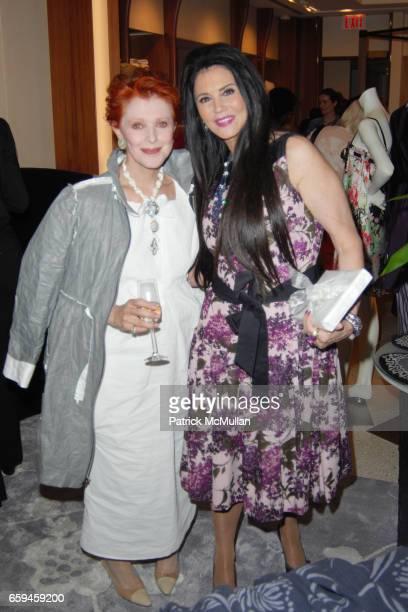 Valerie Sobel and Barbara Lazaroff attend FRETTE Beverly Hills Designer Event at FRETTE on September 10 2009 in Beverly Hills California