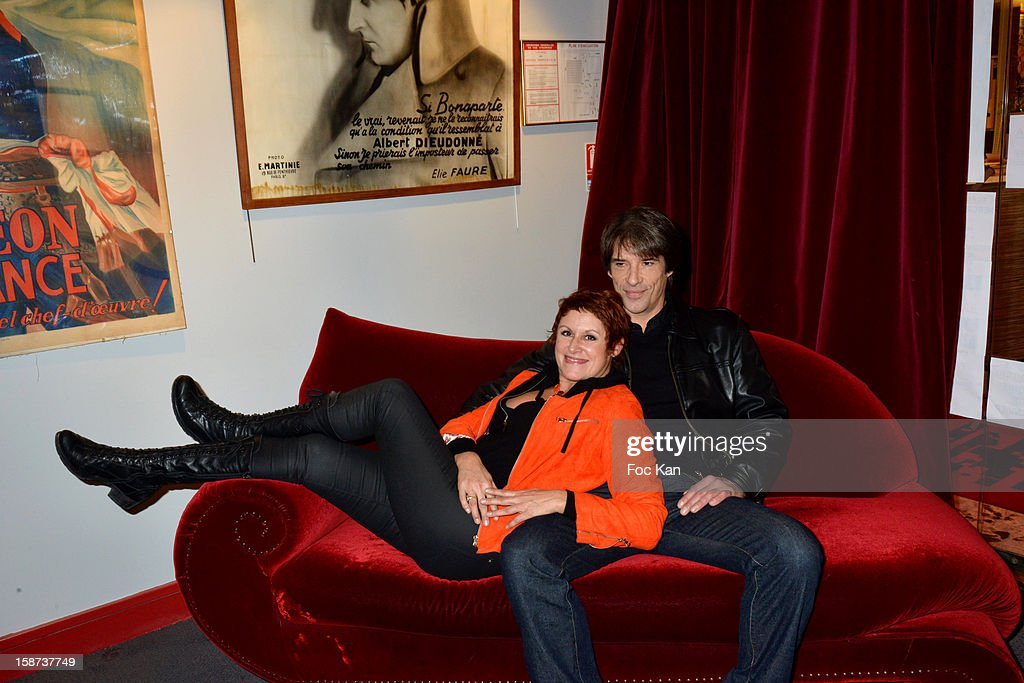 Valerie Vogt and Nicky Naude attend the 'Par Amour' Paris Premiere at Studio 28 on December 26, 2012 in Paris, France.