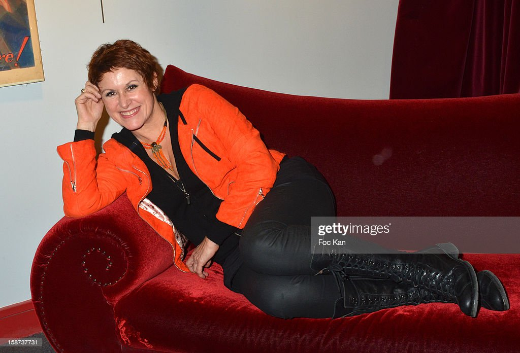 Valerie Vogt attends the 'Par Amour' Paris Premiere at Studio 28 on December 26, 2012 in Paris, France.