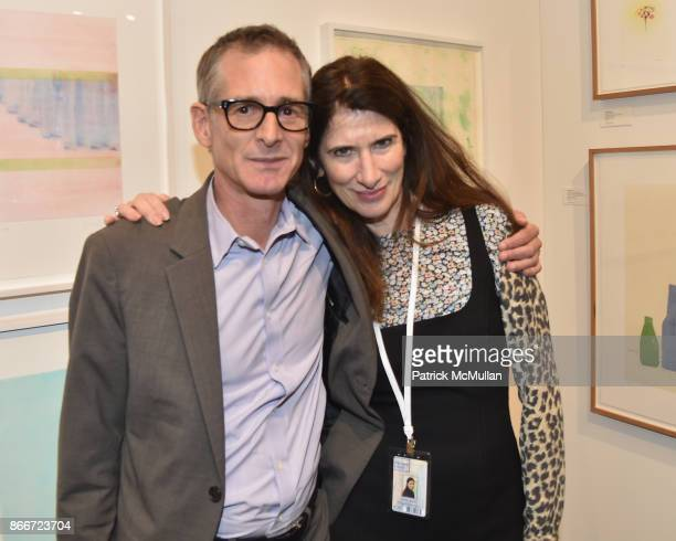 Valerie Wade attends the IFPDA Fine Art Print Fair Opening Preview at The Jacob K Javits Convention Center on October 25 2017 in New York City