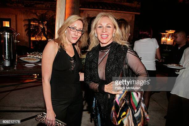 Valerie Zucker and Lea Black attend Haute Living and Rolls Royce Superbowl Party Benefinting Bay Point Schools at Private Residence on February 1 2007