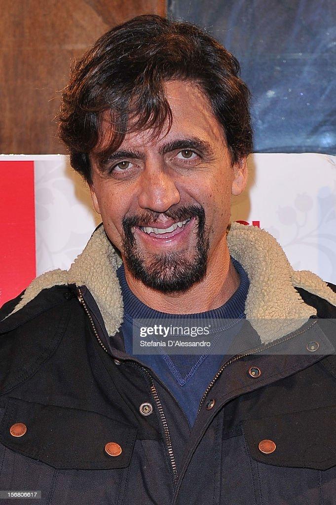 Valerio Staffelli attends 'Il Peggior Natale Della Mia Vita' Premiere on November 21, 2012 in Milan, Italy.