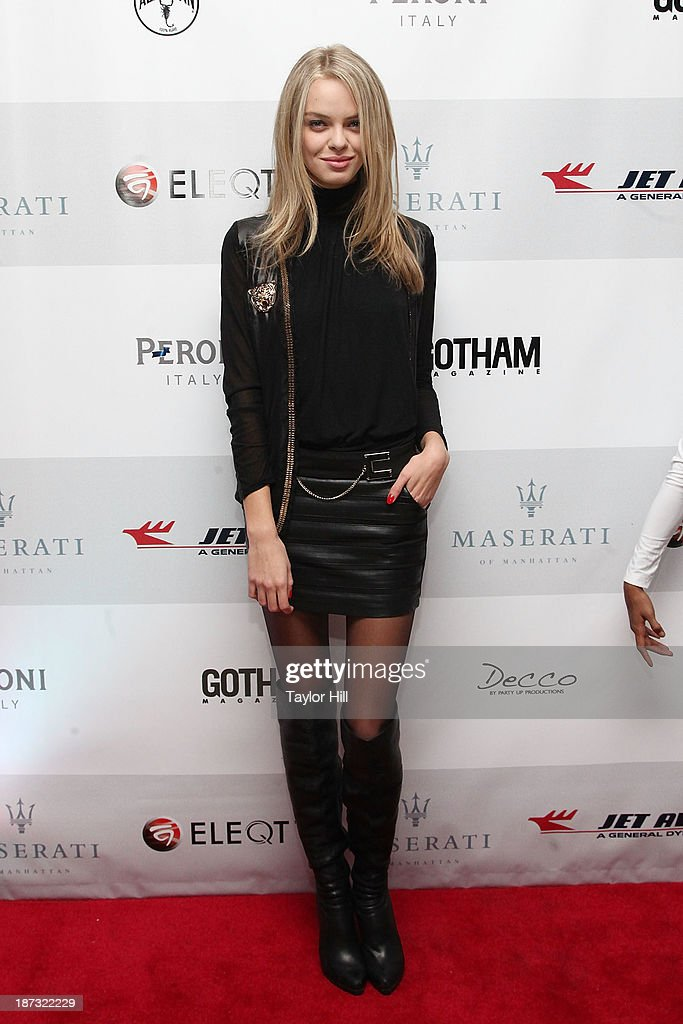 Valeriya Planidina attends the launch of the new Maserati in Manhattan showroom and the preview of the 2014 Maserati Ghibli III on November 7, 2013 in New York City.