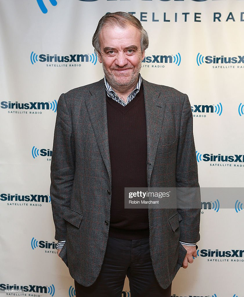 <a gi-track='captionPersonalityLinkClicked' href=/galleries/search?phrase=Valery+Gergiev&family=editorial&specificpeople=622385 ng-click='$event.stopPropagation()'>Valery Gergiev</a> visits at SiriusXM Studios on October 10, 2013 in New York City.