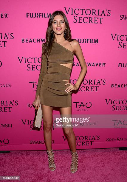 Valery Kaufman attends the 2015 Victoria's Secret Fashion After Party at TAO Downtown on November 10 2015 in New York City