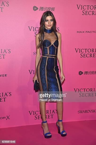 Valery Kaufman attends the 2016 Victoria's Secret Fashion Show after party on November 30 2016 in Paris France