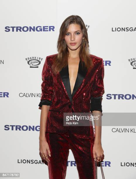 Valery Kaufman attends the premiere of 'Stronger' at Walter Reade Theater on September 14 2017 in New York City