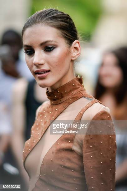 Valery Kaufman attends the Vogue Foundation Dinner during Paris Fashion Week Haute Couture Fall/Winter 20172018 on July 4 2017 in Paris France