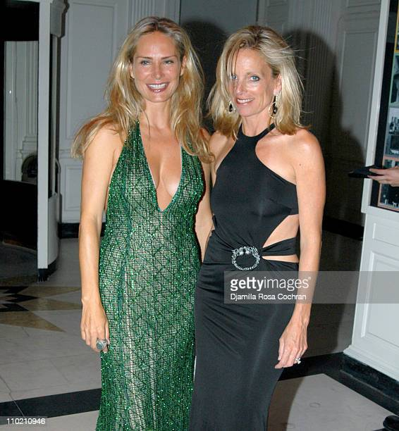 Valesca Guerrand Hermes and Rachel Hovnanian wearing Gucci