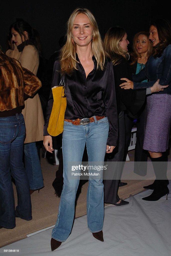 Valesca Guerrand Hermes attends Tuleh Fall 2005 Fashion Show at The Plaza at Bryant Park on February 6 2005 in New York City