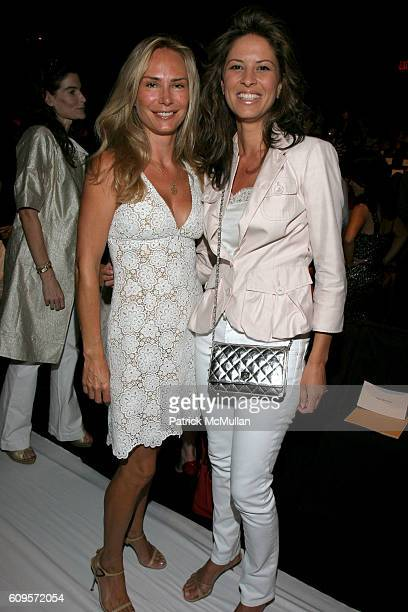 Valesca GuerrandHermes and attend MICHAEL KORS 2008 Spring Collection at Bryant Park Tents on September 9 2007 in New York City