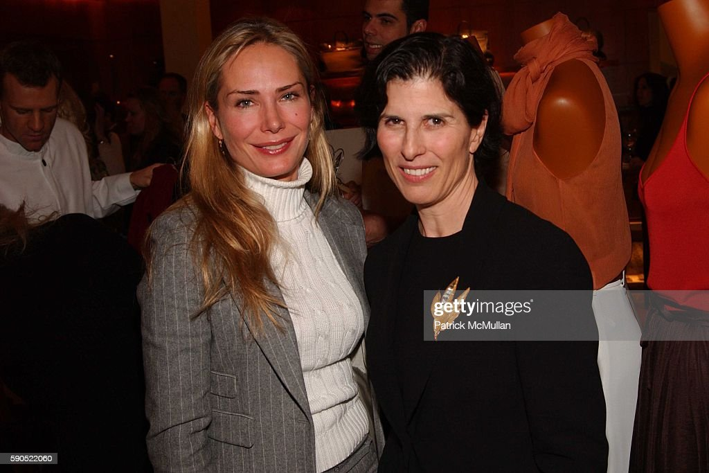 Valesca GuerrandHermes and Marjorie Van Dercook attend A kickoff for 'An Enchanted Evening' a Gala for the School of American Ballet at Hermes on...