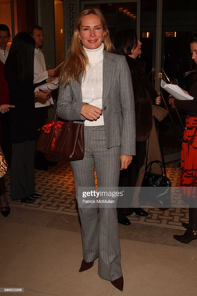 Valesca GuerrandHermes attends A kickoff for 'An Enchanted Evening' a Gala for the School of American Ballet at Hermes on January 18 2005 in New York
