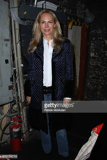 Valesca GuerrandHermes attends DOUGLAS HANNANT Fall 2008 Fashion Show at Hudson Theater at the Millenium Hotel on February 1 2008 in New York City