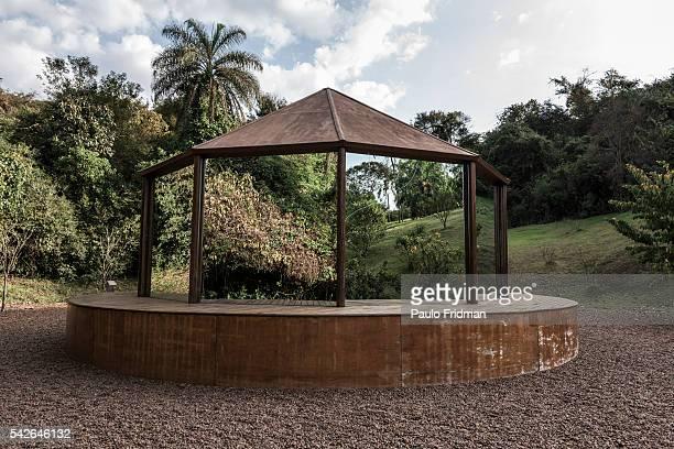 Valeska Soares' work at Inhotim Contemporary Art Institute on September 7th in Brumadinho Minas Gerais Brazil