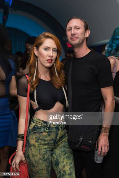 Valissa Yoe and Ryan Mcknight attend MAC Celebrates the Winner of the CFDA/Vogue Fashion Fund Capsule Collection CHROMAT at Maru Karaoke Lounge on...