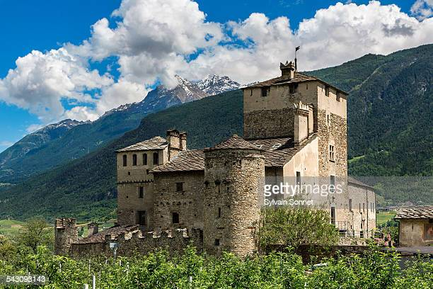 Valle D'Aosta, Saint Pierre, Sarriod Castle