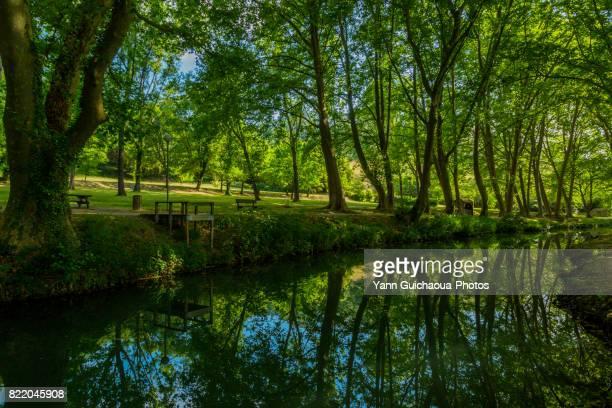 Vallée de l'Eure, Uzes, Gard, Occitanie, France
