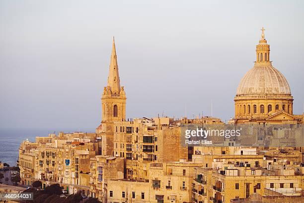 Valletta in dusk