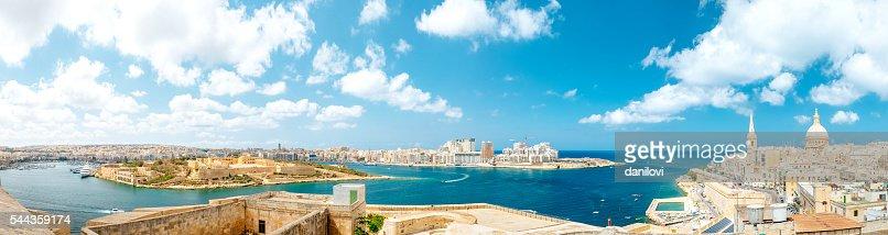Valletta panorama, Malta