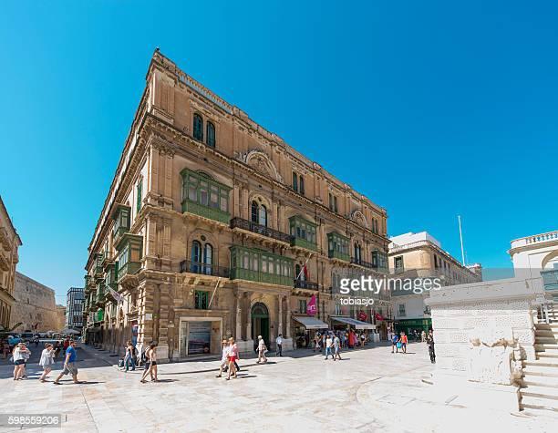 Valletta shopping street