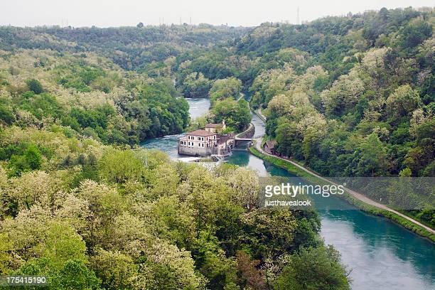 Valley and river Adda