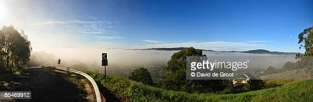 Valley awash with Fog