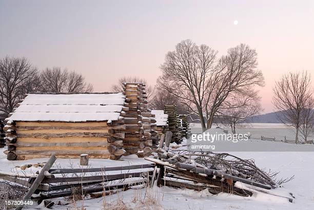 Valley Forge at Dawn in Winter