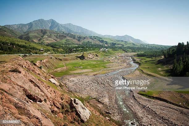 A valley in Northern Tajikistan