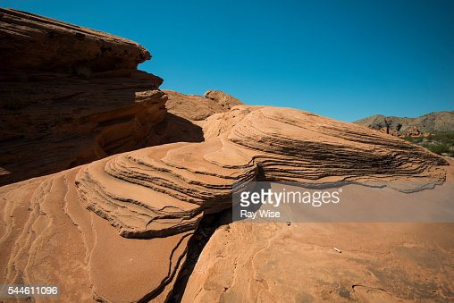 Valley of Fire sandstone time lines