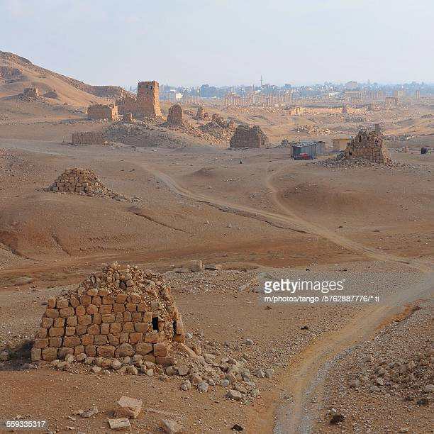 Valley of tombs, Palmyra, Syria