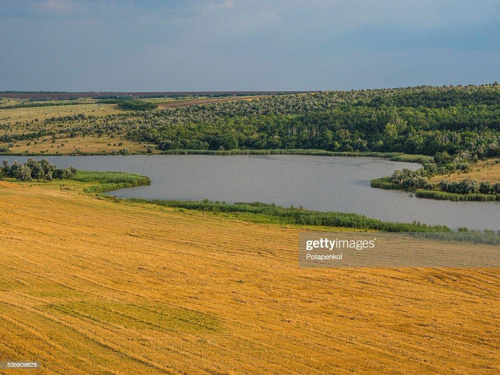 Valley Ukraine : Stock Photo