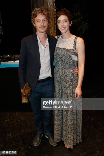 'Valois de lacteur' in 'Petit paysan' Swann Arlaud and Sara Giraudeau attend the 10th Angouleme FrenchSpeaking Film Festival Closing Ceremony on...