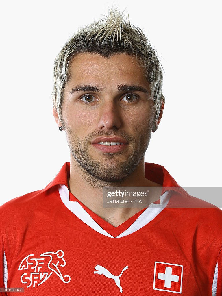 <a gi-track='captionPersonalityLinkClicked' href=/galleries/search?phrase=Valon+Behrami&family=editorial&specificpeople=453450 ng-click='$event.stopPropagation()'>Valon Behrami</a> of Switzerland poses during the official Fifa World Cup 2010 portrait session > on June 11, 2010 in Johannesburg, South Africa.