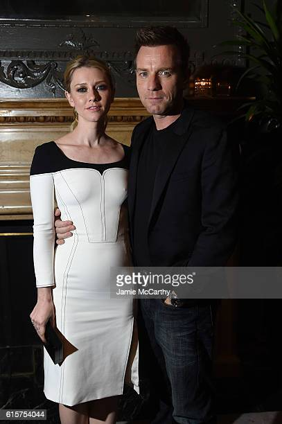 Valorie Curry and Ewan McGregor attend the after party for 'American Pastoral' hosted by Lionsgate Lakeshore Entertainment and Bloomberg Pursuits at...