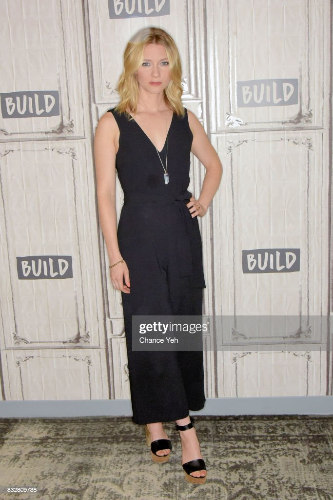 Valorie Curry attends the Build series to discuss 'The Tick' at Build Studio on August 16, 2017 in New York City.