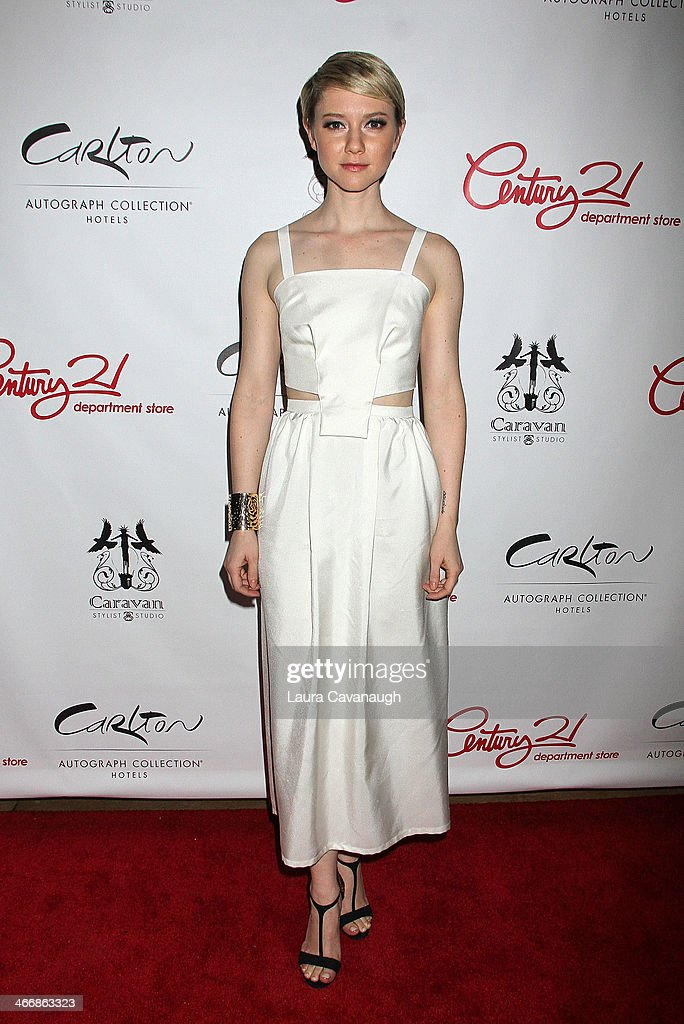<a gi-track='captionPersonalityLinkClicked' href=/galleries/search?phrase=Valorie+Curry&family=editorial&specificpeople=4070870 ng-click='$event.stopPropagation()'>Valorie Curry</a> attends the 'I Love NY' Project to save the Garment District event at Carlton Hotel on February 4, 2014 in New York City.