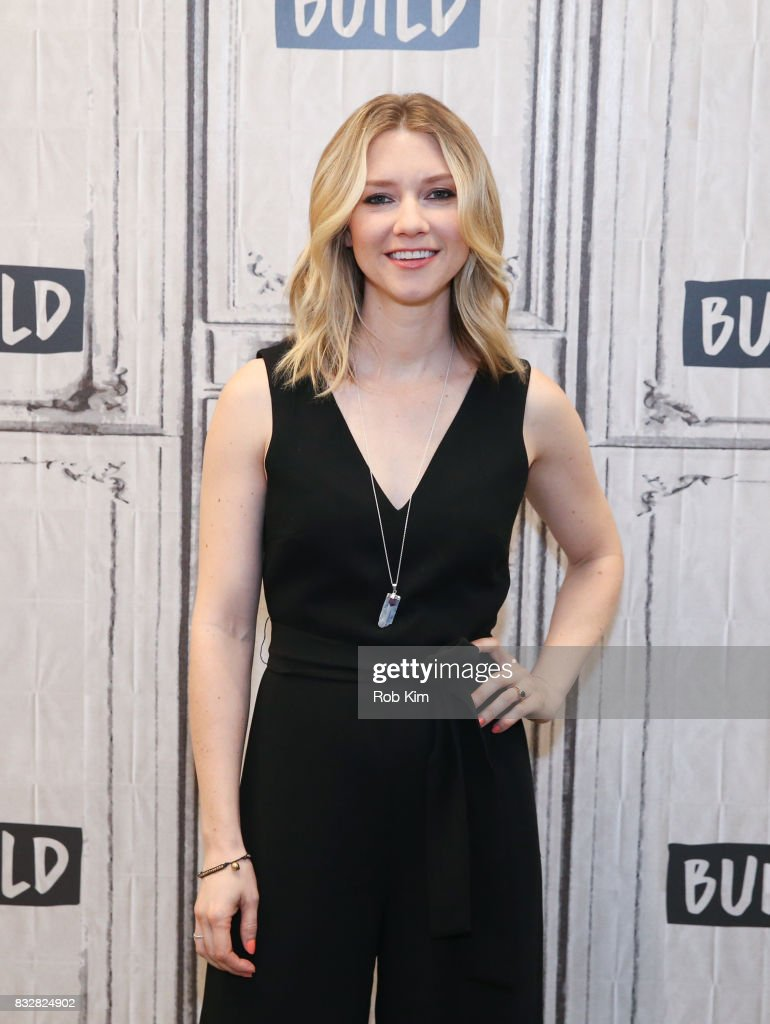 Valorie Curry of 'The Tick' visits at Build Studio on August 16, 2017 in New York City.