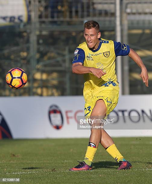 Valter Birsa of Chievo during the Serie A match between FC Crotone and AC ChievoVerona at Stadio Comunale Ezio Scida on October 30 2016 in Crotone...