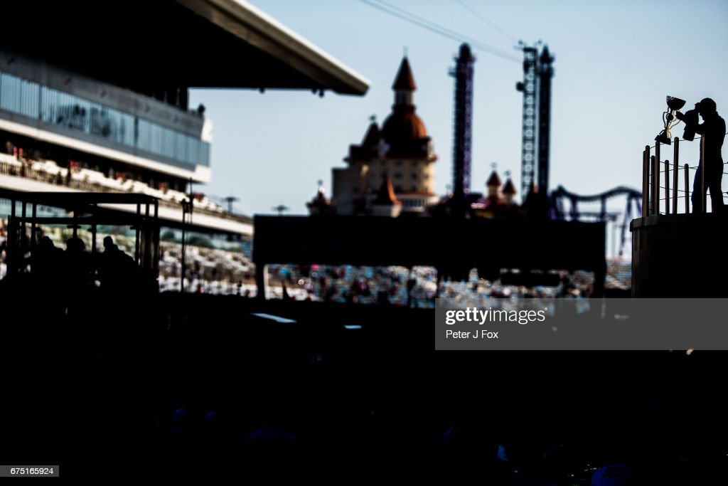 Valterri Bottas of Mercedes and Finland during the Formula One Grand Prix of Russia on April 30, 2017 in Sochi, Russia.