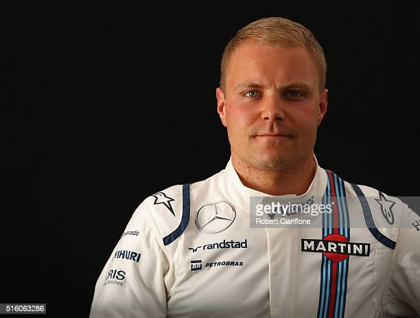 Valtteri Bottas of Finland and Williams during previews to the Australian Formula One Grand Prix at Albert Park on March 17 2016 in Melbourne...