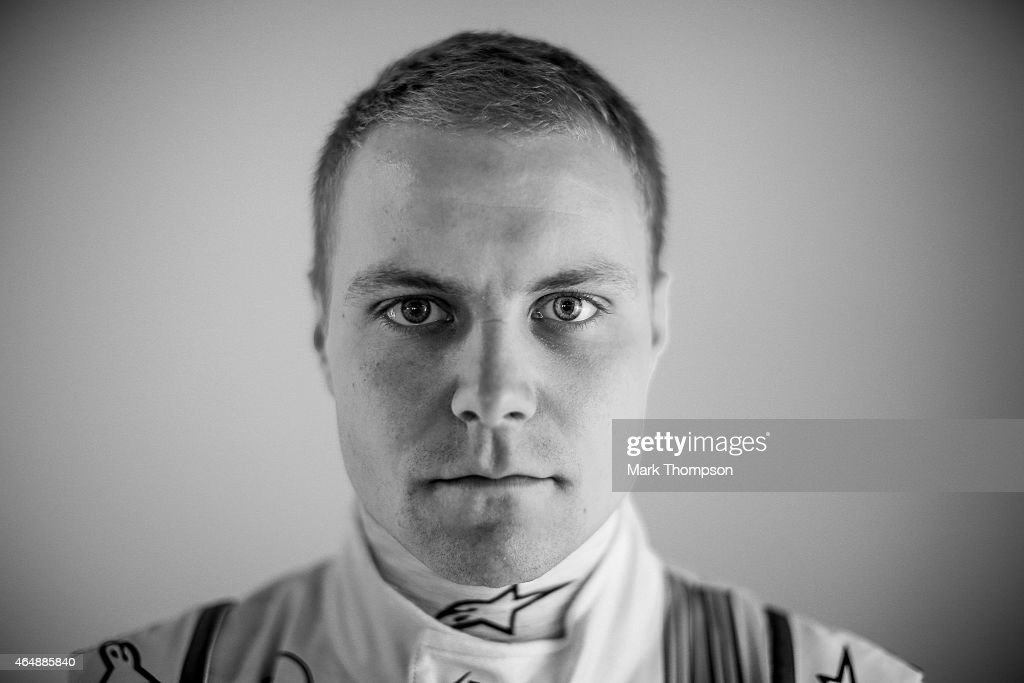 <a gi-track='captionPersonalityLinkClicked' href=/galleries/search?phrase=Valtteri+Bottas&family=editorial&specificpeople=8640136 ng-click='$event.stopPropagation()'>Valtteri Bottas</a> of Finland and Williams poses for a portrait during day three of Formula One Winter Testing at Circuit de Catalunya on February 21, 2015 in Montmelo, Spain.