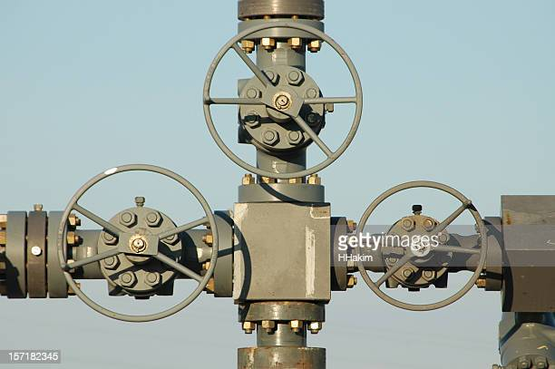 Valves on a wellhead