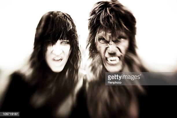 Vampiro y hombre lobo
